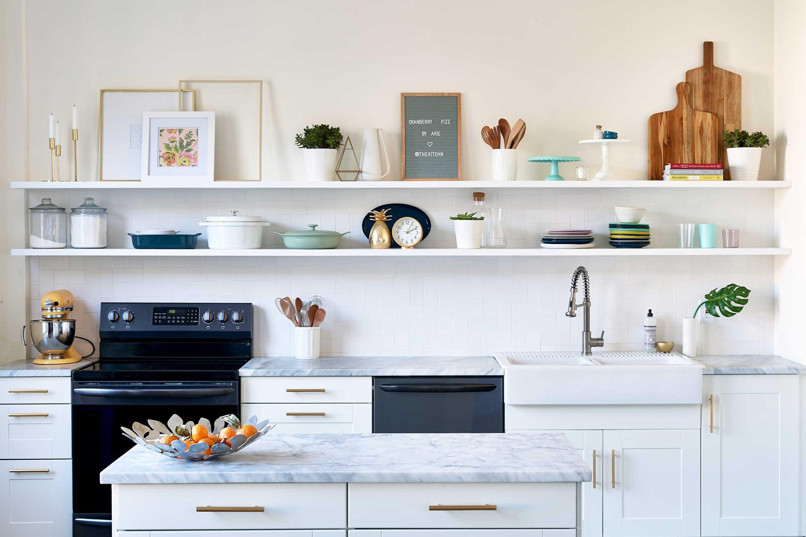 Maža virtuvė – kaip padaryti daugiau erdvės?