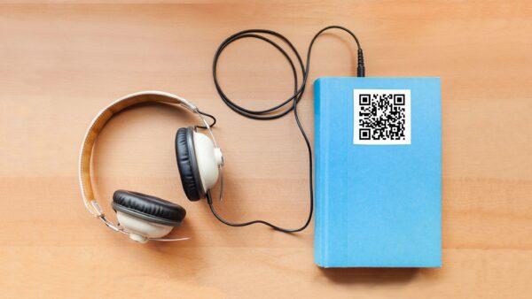 QR kodų naudojimas audioknyguose